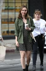 LIANA LIBERATO Out for Coffee in West Hollywood 03/09/2020