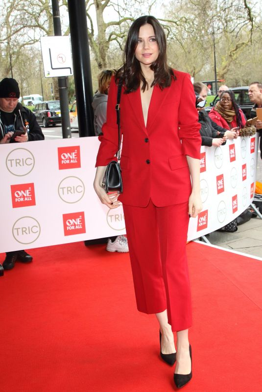 LILAH PARSONS at Tric Awards 2020 in London 03/10/2020