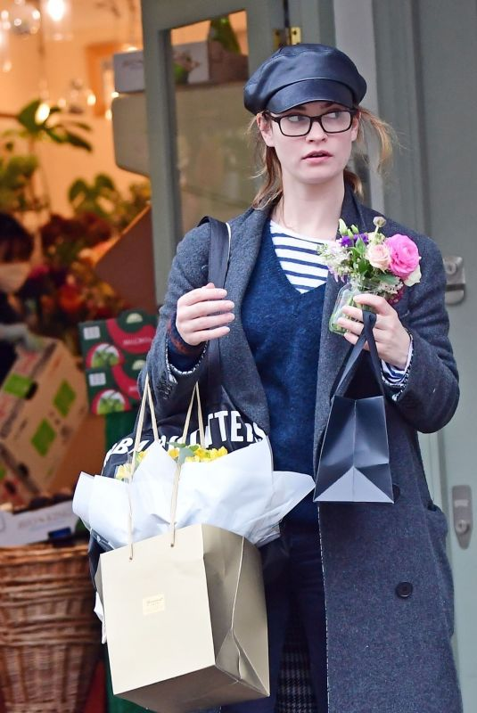 LILY JAMES Out Shopping in London 03/18/2020