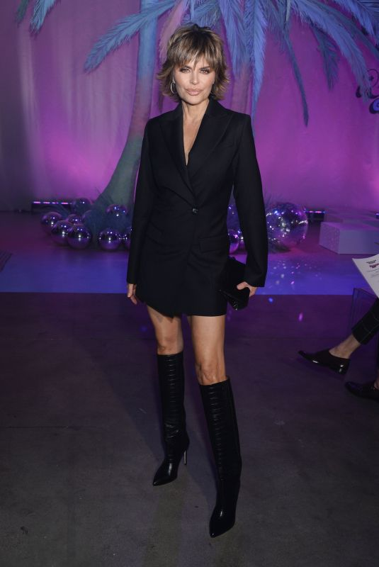 LISA RINNA at 2020 Christian Cowan x Powerpuff Girls Runway Show in Hollywood 03/08/2020