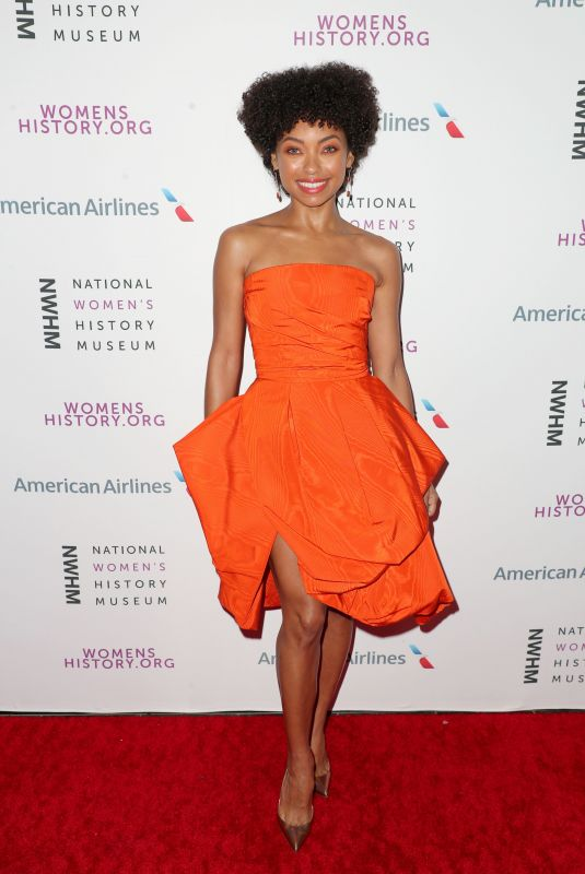 LOGAN BROWNING at National Women's History Museum Women Making History Awards in Los Angeles 03/08/2020