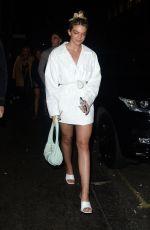 LOUISA JOHNSON Leaves Sintallite Party in London 03/07/2020