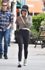 LUCY HALE Out in Studio City 03/07/2020