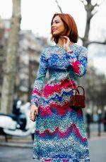 MAEVA COUCKE Arrives at Leonard Fashion Show at PFW in Paris 02/28/2020
