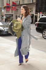MANDY MOORE Out and About in New York 03/11/2020