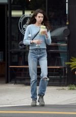 MARGARET QUALLEY Out for Healthy Juice in Los Angeles 03/16/2020