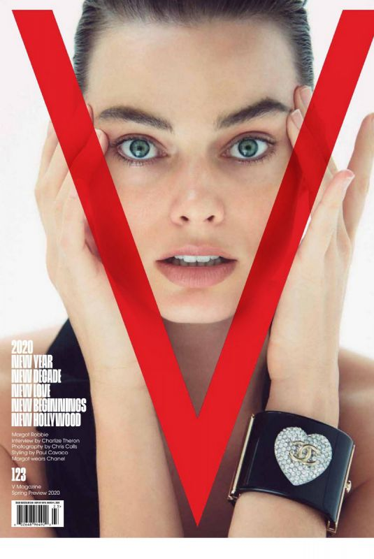 MARGOT ROBBIE in V Magazine, Spring 2020