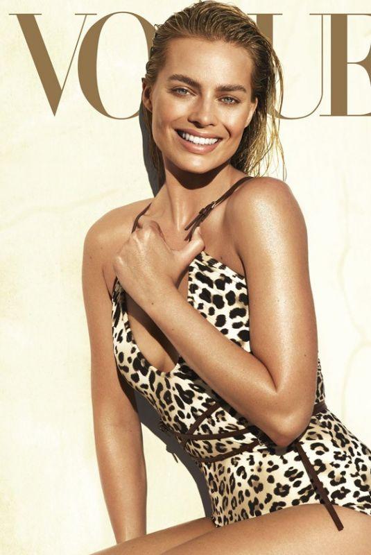 MARGOT ROBBIE in Vogue Magazine, June 2016
