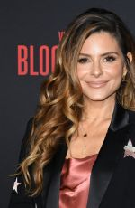 MARIA MENOUNOS at Bloodshot Premiere in Los Angeles 03/10/2020