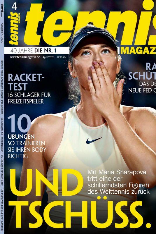 MARIA SHARAPOVA in Tennis Magazine, April 2020