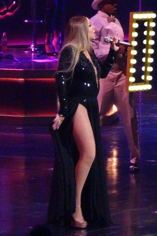 MARIAH CAREY Performs at Her Final Concert in Las Vegas 02/29/2020