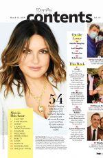 MARISKA HARGITAY for People Magazine, March 2020