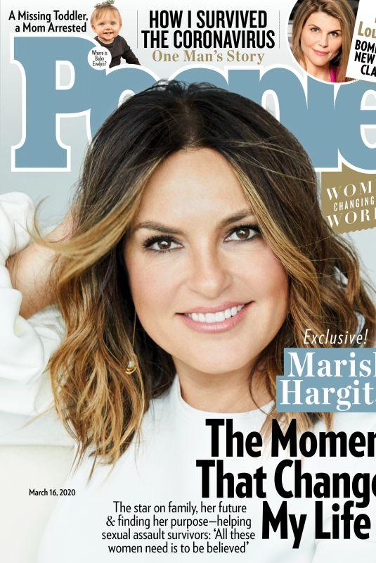MARISKA HARGITAY in People Magazine, March 2020