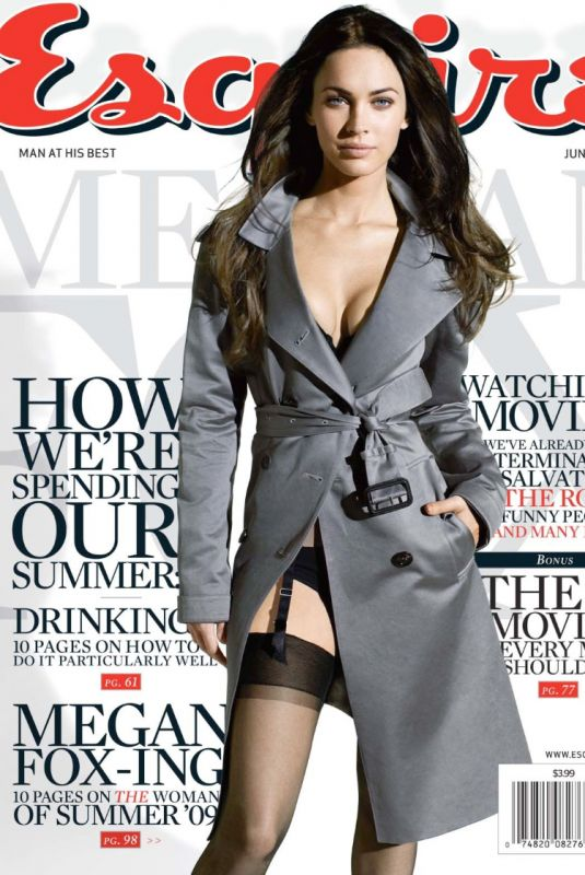 MEGAN FOX for Esquire Magazine, June 2009
