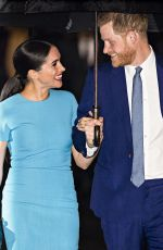 MEGHAN MARKLE and Prince Harry at Endeavour Fund Awards 2020 in London 03/05/2020