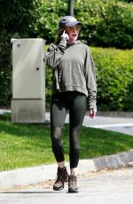 MELANIE GRIFFITH Out Hiking in Los Angeles 03/28/2020