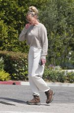 MELANIE GRIFFITH Out Hiking in Los Angeles 03/29/2020