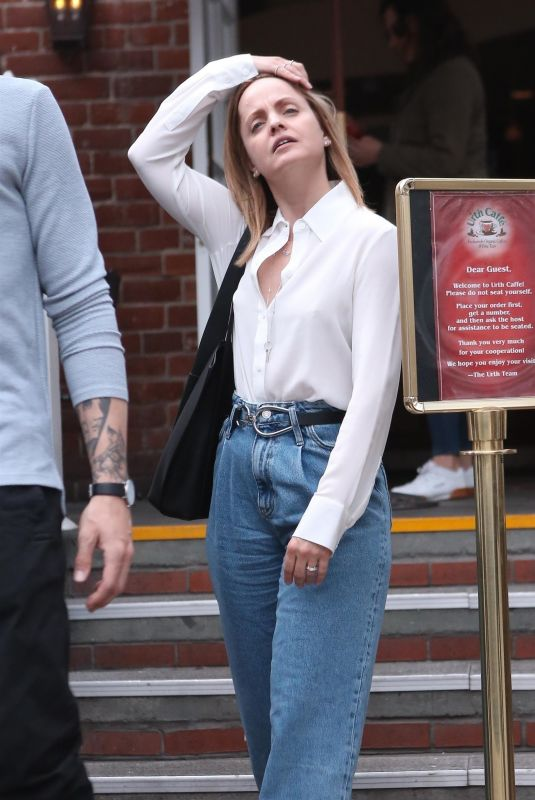 MENA SUVARI Out for Lunch in Beverly Hills 02/27/2020