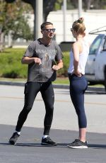 MIA GOTH and Shia Labeouf Out in Los Angeles 03/26/2020