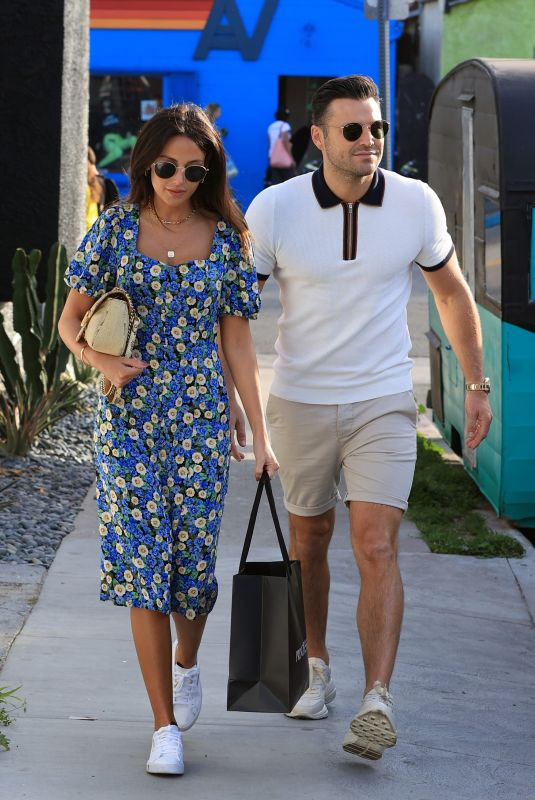 MICHELLE KEEGAN and Mark Wright Out and About in Los Angeles 02/27/2020