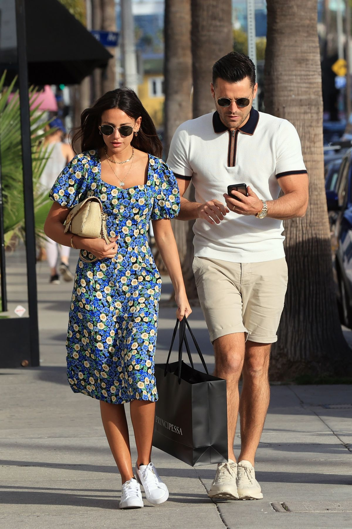 Michelle Keegan And Mark Wright Out And About In Los Angeles 02 27 2020 Hawtcelebs