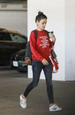 MILA KUNIS Leaves Target in West Hollywood 03/02/2020