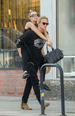 MILEY CYRUS and Cody Simpson Out in Malibu 03/02/2020