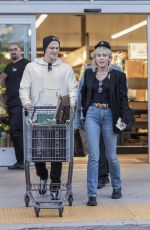 MILEY CYRUS and Cody Simpson Out Shopping in Los Angeles 02/28/2020