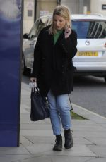 MOLLIE KING Leaves BBC Radio Studios in Harrow 03/21/2020