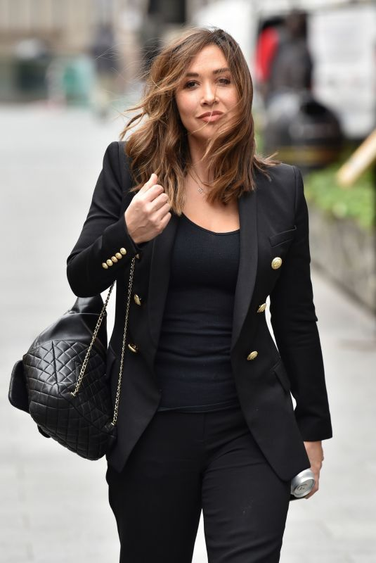 MYLEENE KLASS Leaves Smooth Studios in London 03/18/2020