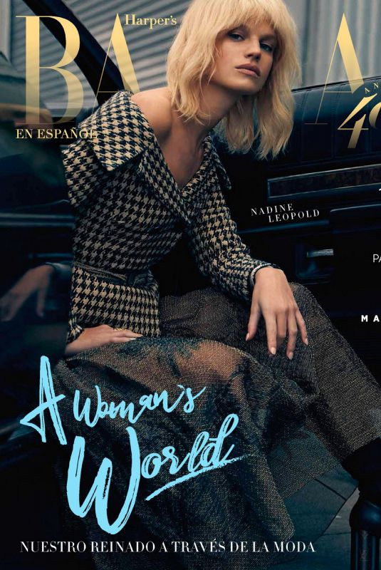 NADINE LEOPOLD in Harper's Bazaar Magazine, March 2020