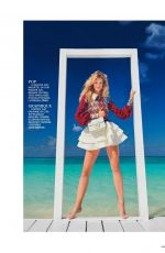 NADINE LEOPOLD in Madame Figaro, March 2020