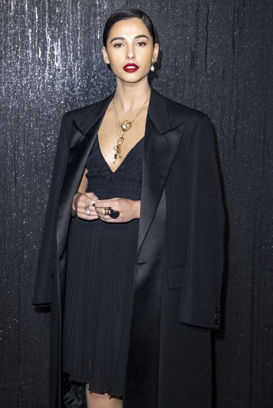 NAOMI SCOTT at Givenchy Show at Paris Fashion Week 03/01/2020