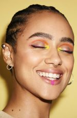 NATHALIE EMMANUEL for Glamour Magazine, UK March 2020