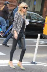 NICKY HILTON Arrives at AOL Building in New York 03/09/2020