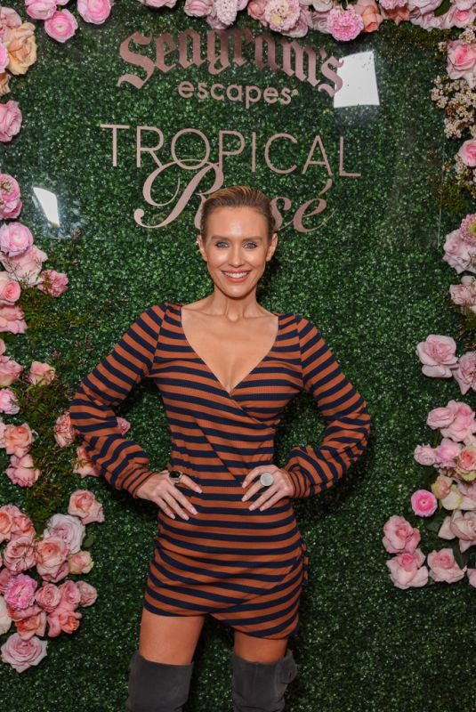 NICKY WHELAN at Seagrams Escapes Tropical Rose Launch Party in Los Angeles 03/11/2020