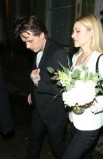 NICOLA PELTZ and Brooklyn Beckham Leaves Laylow Club in Notting Hill 03/07/2020