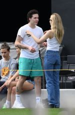 NICOLA PELTZ and Brooklyn Beckham Out in Fort Lauderdale 03/14/2020