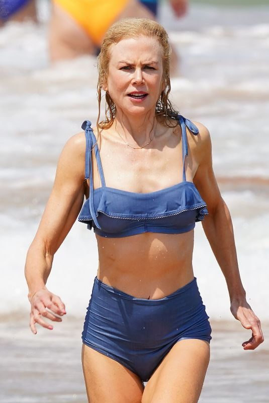 NICOLE KIDMAN in Bikini at a Beach in Australia 12/26/2019
