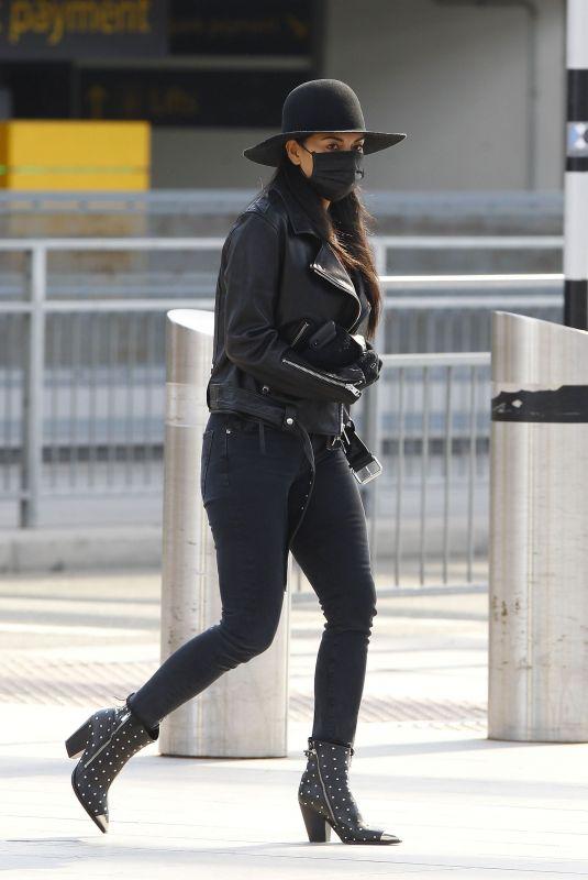 NICOLE SCHERZINGER at Heathrow Airport in London 03/28/2020