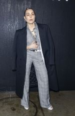 NOOMI RAPACE at Givenchy Fashion Show in Paris 03/01/2020