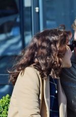 OLIVIA COOKE and Ben Hardy Out Kissing in London 03/23/2020
