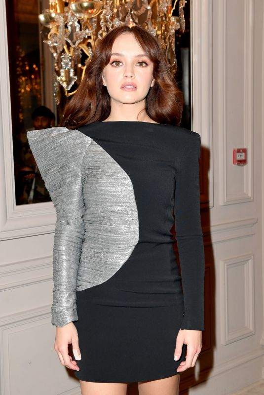 OLIVIA COOKE at Monot Show at Paris Fashion Week 02/29/2020