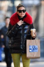 OLIVIA PALERMO Out and About in New York 03/14/2020