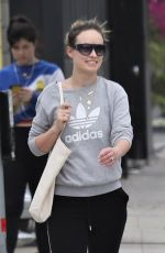 OLIVIA WILDE Out and About in Los Angeles 03/20/2020