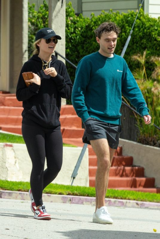 OLIVIA WILDE Out with Her Brother in Silver Lake 03/25/2020