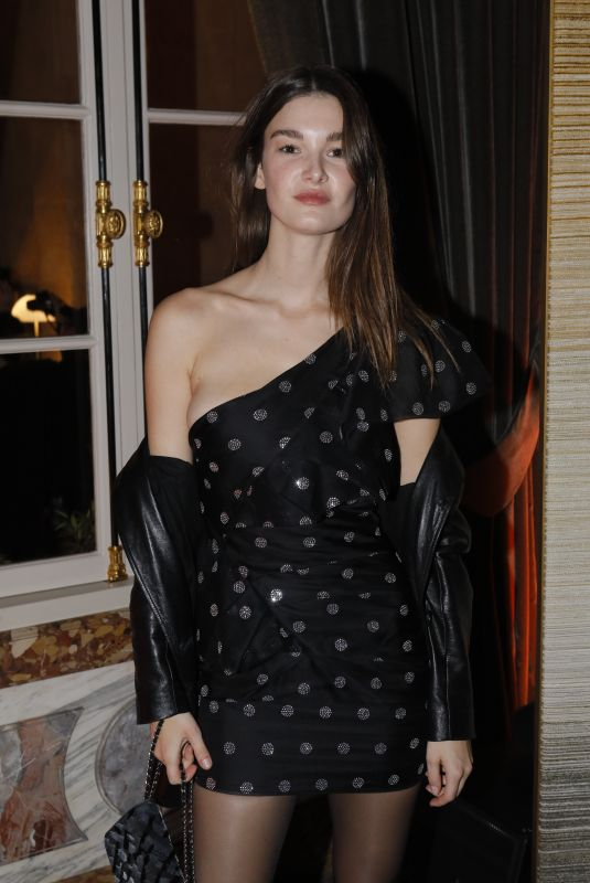 OPHELIE GUILLERMAND at CR Fashion Book x Redemption Party in Paris 02/28/2020