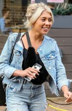 PAIGE TURLEY in Double Denim Out in London 03/12/2020