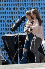 PARIS JACKSON and Gabriel Glenn Filming Their Latest Music Video in Los Angeles 03/07/2020