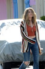 PARIS JACKSON on the Set of a Music Video in Los Angeles 03/07/2020